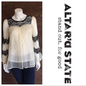 Altar'd State Lace Blouse